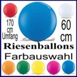 Riesenluftballon 170er Rund 1 Stück