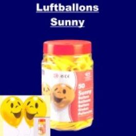"""Luftballons """"Sunny"""" 50 Stück"""