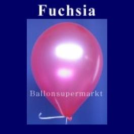 Luftballons Metallic 25 cm Fuchsia R-O 10 Stück