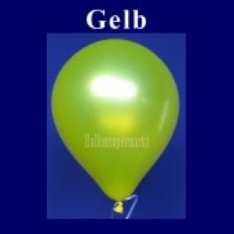 Luftballons Metallic 25 cm Gelb R-O 10 Stück