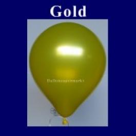 Luftballons Metallic 25 cm Gold R-O 100 Stück