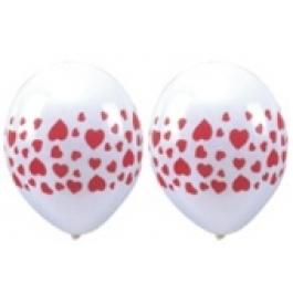 """Luftballons """"Herzen"""" 100 Stück"""