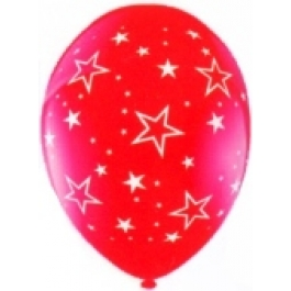 "Luftballons ""Stars All Over"" Bunt gemischt"
