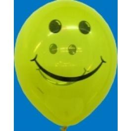 """Luftballons """"Smiles"""" Bunt gemischt"""