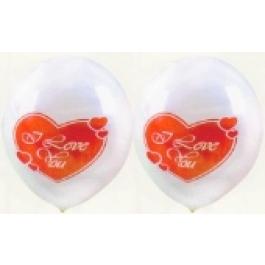 "Luftballons ""I Love You"" 25 Stück"