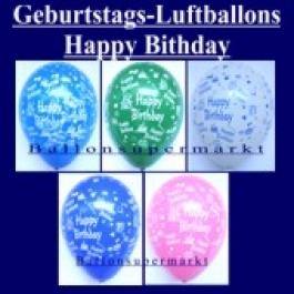 Motiv-Luftballons-Geburtstag