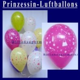 Motiv-Luftballons-Princess-Accessoires