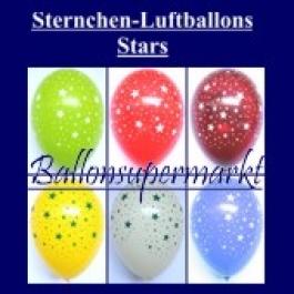 Motiv-Luftballons-Sterne