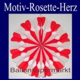 Motiv-Rosette Herz