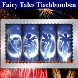 Fairy Tales Tischbomben, kleines Feuerwerk