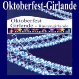 Oktoberfest-Girlande-Rautengirlande