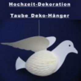 Hochzeit Dekoration Taube (Hänger 45 cm)