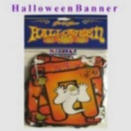 Banner, Girlande Partydeko Halloween