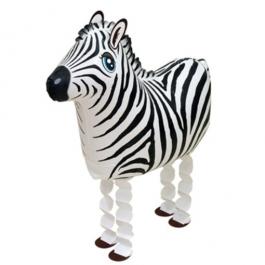 Zebra Airwalker Luftballon