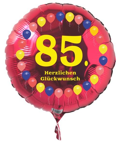Ballonsupermarkt luftballon 85 geburtstag - Geschenke zum 85 geburtstag ...