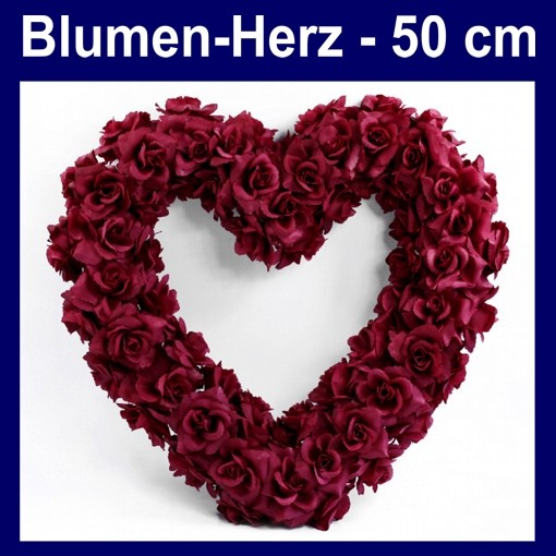 ballonsupermarkt blumen herz dunkelrot. Black Bedroom Furniture Sets. Home Design Ideas