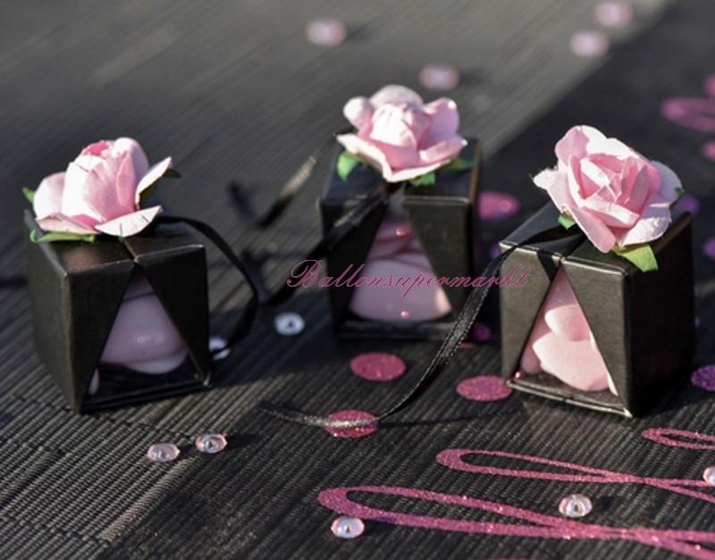 ballonsupermarkt deko rosen rosa 20 st ck konfetti tischdekoration konfetti. Black Bedroom Furniture Sets. Home Design Ideas