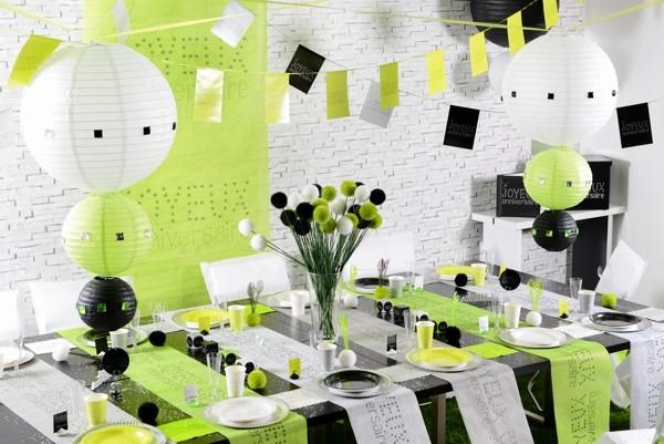 lampions gr n 30 cm 2 st ck laternen und lampions fest dekoration ballonsupermarkt. Black Bedroom Furniture Sets. Home Design Ideas