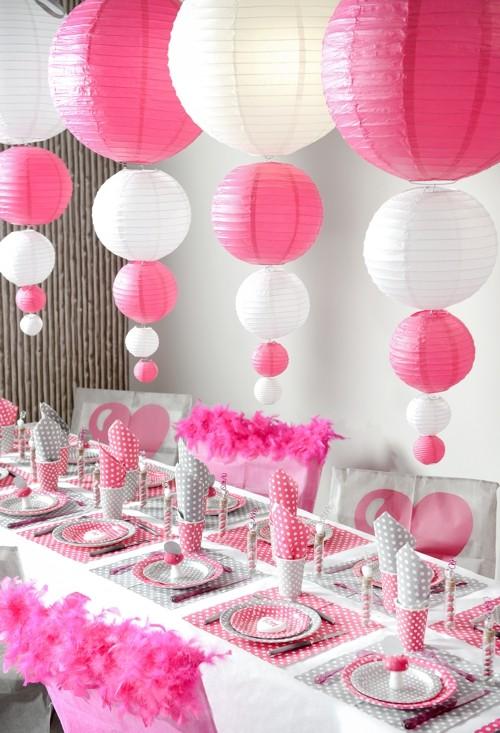 Ballonsupermarkt Lampion 50 Cm Pink Xl
