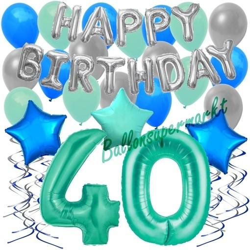 "Geburtstag Wimpelkette /""Bubbles/""Happy Birthday Party Girlande Deko 6,8 m 9"