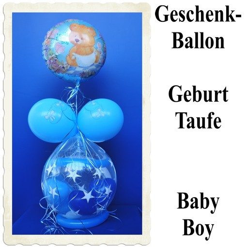 ballonsupermarkt geschenkballon geburt. Black Bedroom Furniture Sets. Home Design Ideas