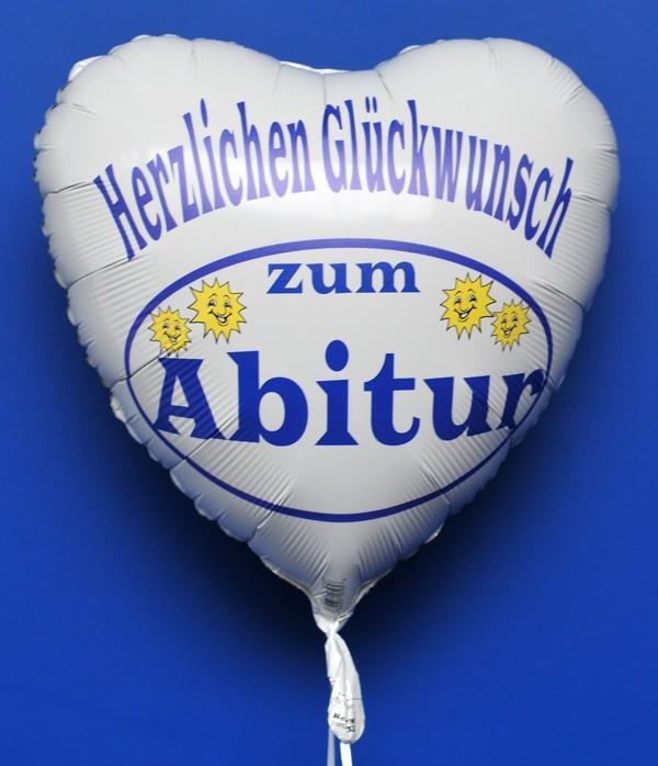 ballonsupermarkt herzlichen gl ckwunsch zum abitur luftballon mit helium. Black Bedroom Furniture Sets. Home Design Ideas