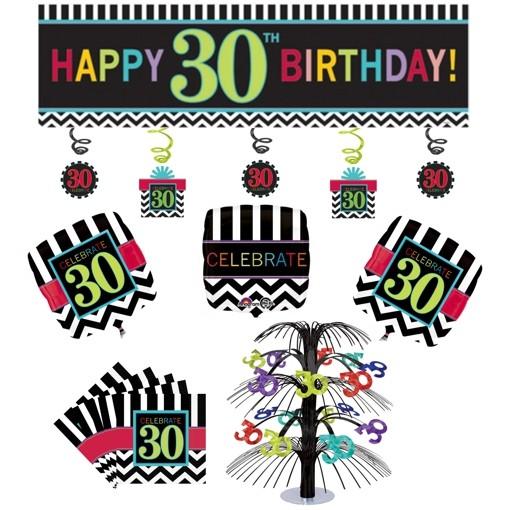 Ballonsupermarkt geburtstagsdekorations for Geburtstagsdeko 30