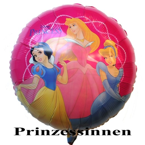 ballonsupermarkt luftballon prinzessinnen von walt disney princess folienballon. Black Bedroom Furniture Sets. Home Design Ideas