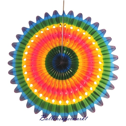 Ballonsupermarkt riesen rosette deko for Karneval dekoration