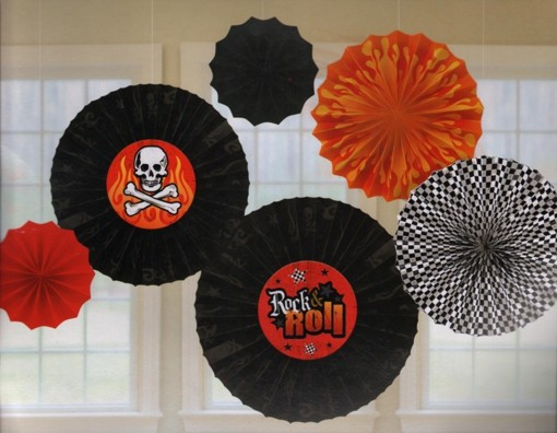 ballonsupermarkt rock roll party. Black Bedroom Furniture Sets. Home Design Ideas