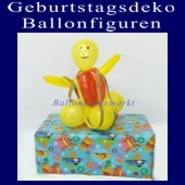 ballonsupermarkt geburtstagsm nnchen geburtstagsdeko ballonfiguren. Black Bedroom Furniture Sets. Home Design Ideas