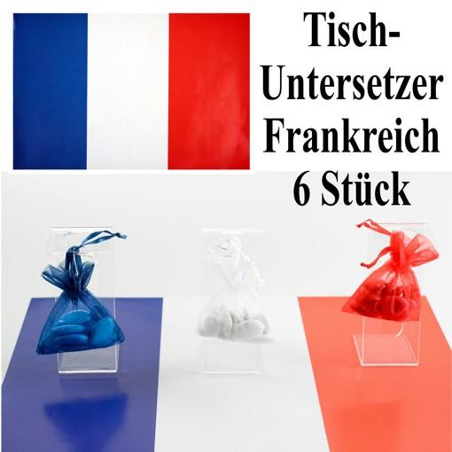 Ballonsupermarkt deko tischuntersetzer Dekoration frankreich