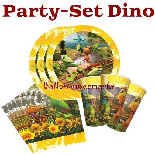 Ballonsupermarkt dinosaurier party set zum for Kindergeburtstag party set