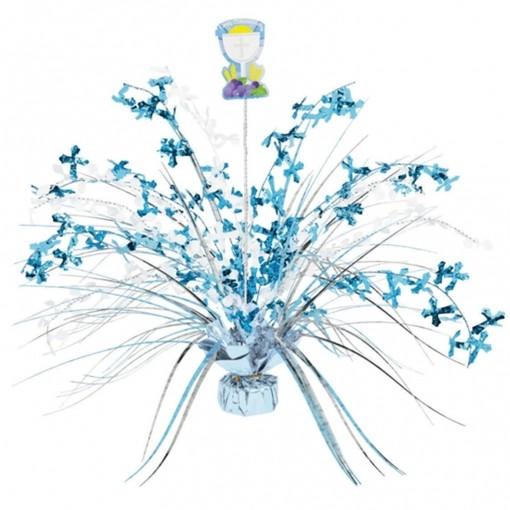 Tischstander Zur Kommunion Blau Tischdekoration Kommunion Und