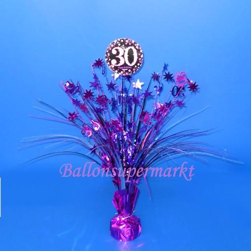 Tischstander Pink Celebration 30