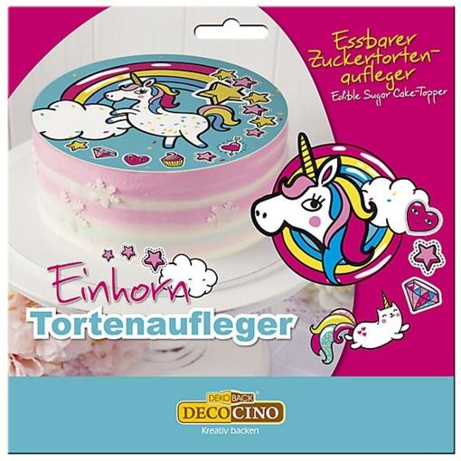 Torten Dekoration Einhorn Partydekoration Kindergeburtstag