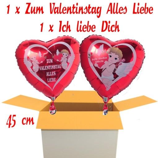 Valentinsgruesse Im Karton 2 X Zum Valentinstag Alles