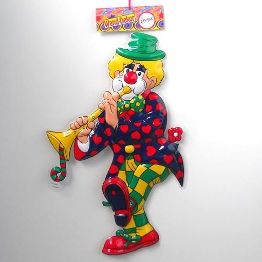 Ballonsupermarkt faschingsclown mit for Karneval dekoration