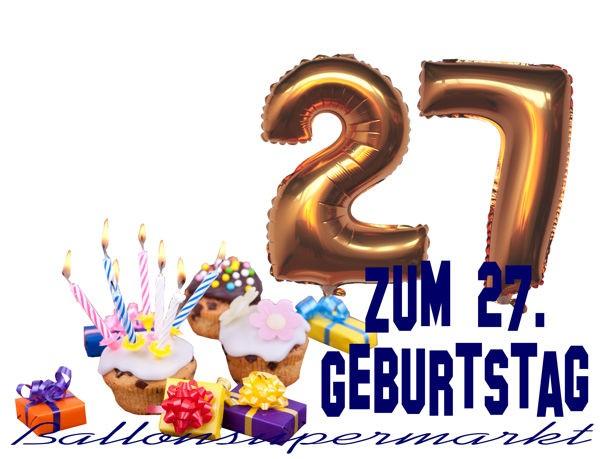 Geburtstagssprüche 27