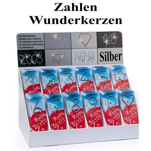 """Wunderkerzen Zahl /""""90/"""" Geburtstag Party Jubiläum 18cm"""