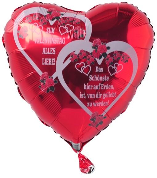 Zum Valentinstag Alles Liebe! Das Schönste Hier Auf Erden, Ist, Von Dir  Geliebt