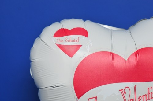 ... Zum Valentinstag Luftballon Mit Helium Mein Schatz