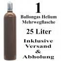 Ballongas Helium 25 L