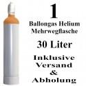 Ballongas Helium 30 L