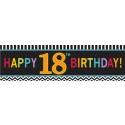 18. Geburtstag Riesenbanner PVC