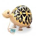Schildkröte, Airwalker Luftballon aus Folie