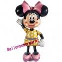 Minnie Mouse / Airwalker Ballon mit Ballongas-Helium