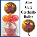 Geschenkballon, Stufferballon, Alles Gute, Viel Glück