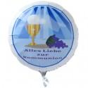 Alles Liebe zur Kommunion, Luftballon aus Folie mit Helium