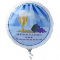 Alles Liebe zur Kommunion, Luftballon aus Folie ohne Helium